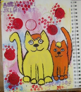 WHIMSICAL  CATS!