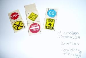 children'swooden dominos