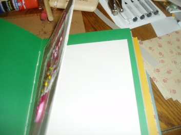 showing the card opens for Journaling.